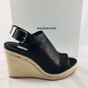 Balenciaga Glove Wedge Sandals - Never Worn